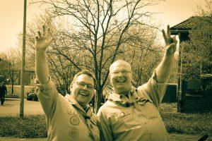 Stephan und Martin - unser Vorstand