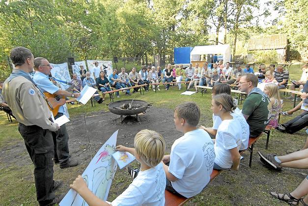 Jubiläum 40 Jahre DPSG Stamm St. Georg Saerbeck