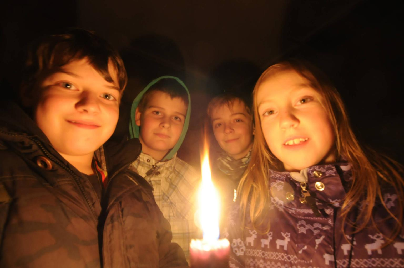 Saerbecker Pfadfinder bringen Licht nach Saerbeck